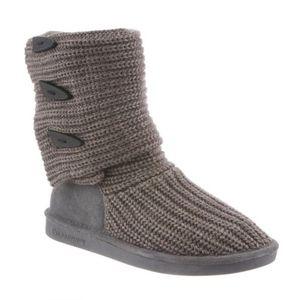 Grey Women's Knit Tall by BearPaw